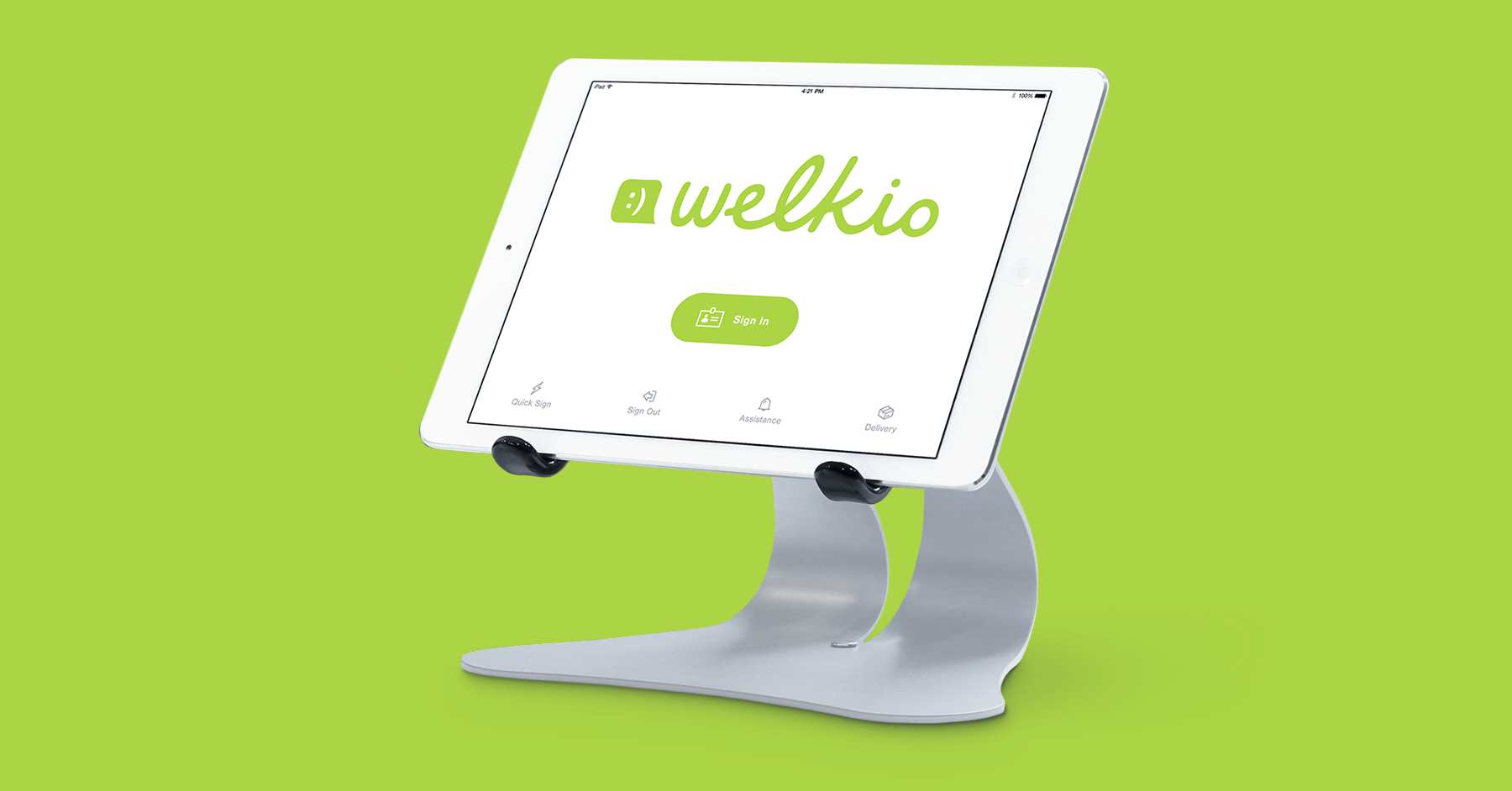Welkio - Modern Visitor Registration for iPad